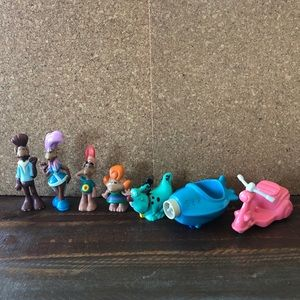 Alf Other - Vintage Alf Collectible Figure Lot
